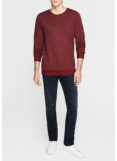 Mavi Basic Sweatshirt Bordo